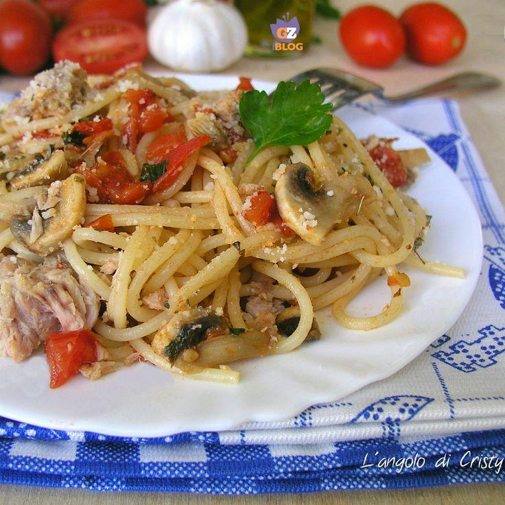 ricette con gli spaghetti cucina mediterraneaspaghettipasta