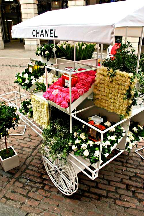 Chanel's Floral Pop Up Store.