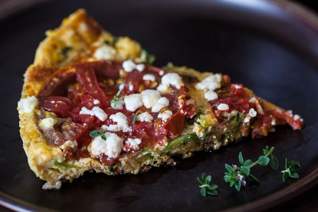 Yummy low carb Zucchini Frittata: Tomatoes Frittata, Healthyish Recipes, Meatloaf, Frittata Recipes, Steami Kitchens, Kitchens Recipes, Zucchini Frittata, Recipes Ii, Ii Recipes