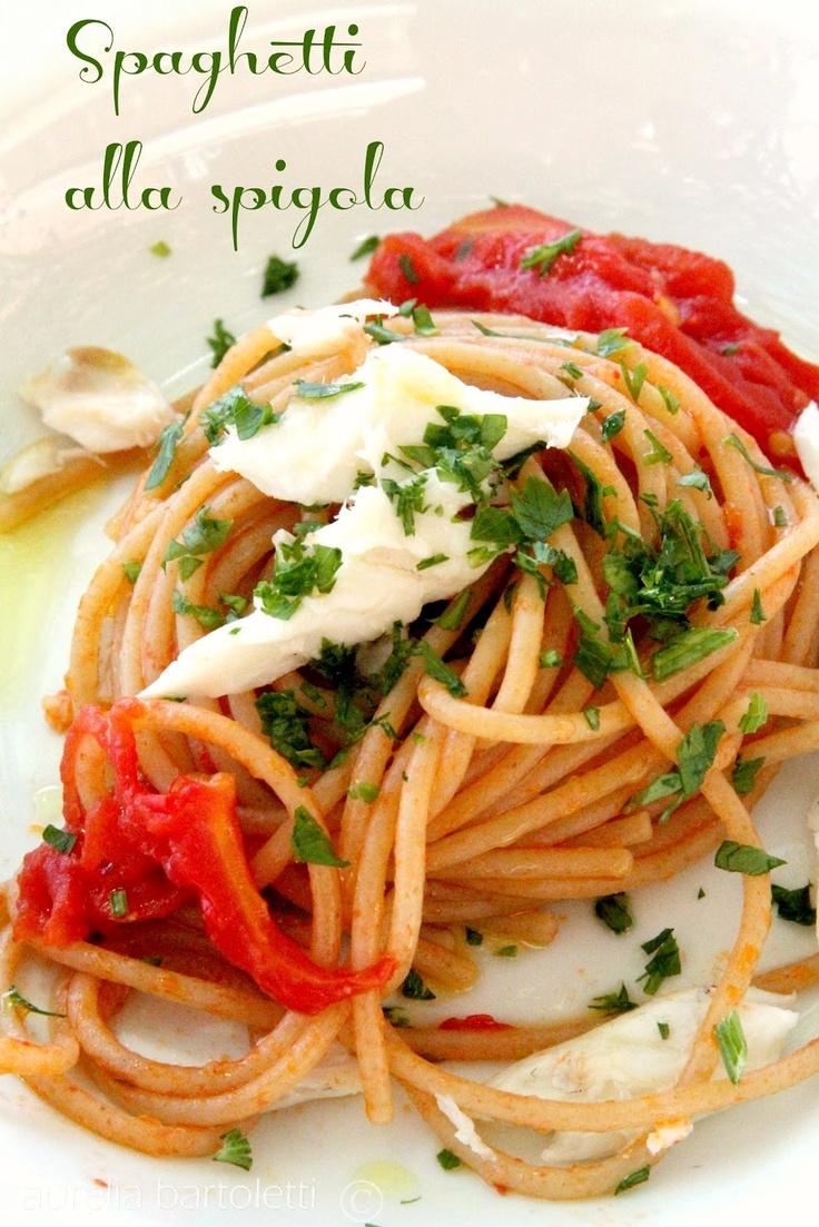 Profumi in cucina: Spaghetti alla spigola