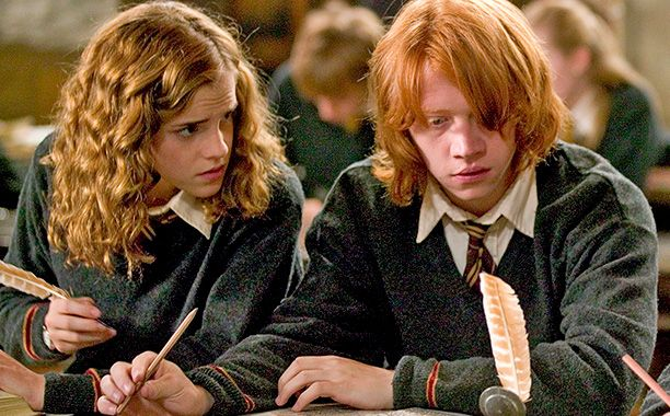 Ten years ago Wednesday, Daniel Radcliffe, Rupert Grint, and Emma Watson made their fourth film appearances as Harry Potter, Ron Weasley, and Hermione Granger, respectively in Harry Potter and the Goblet of Fire. Released in U.S. and U.K. theaters on Nov. 18, 2005, the adaptation of J. K. Rowling's 2000 novel brought in more than $896.9 million at the international box office, and continued a magical run for the three stars that would last for six more years.
