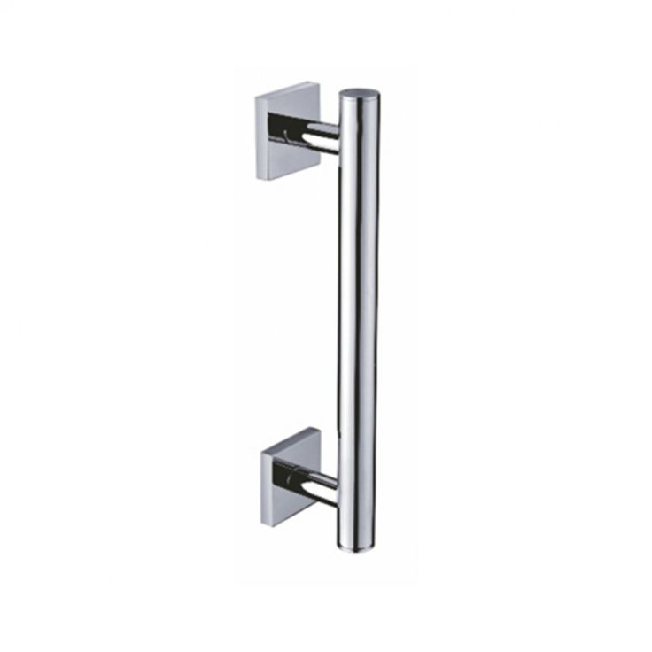Perk Bathroom Towel Bar - Grab Bar - Qubix - Brass