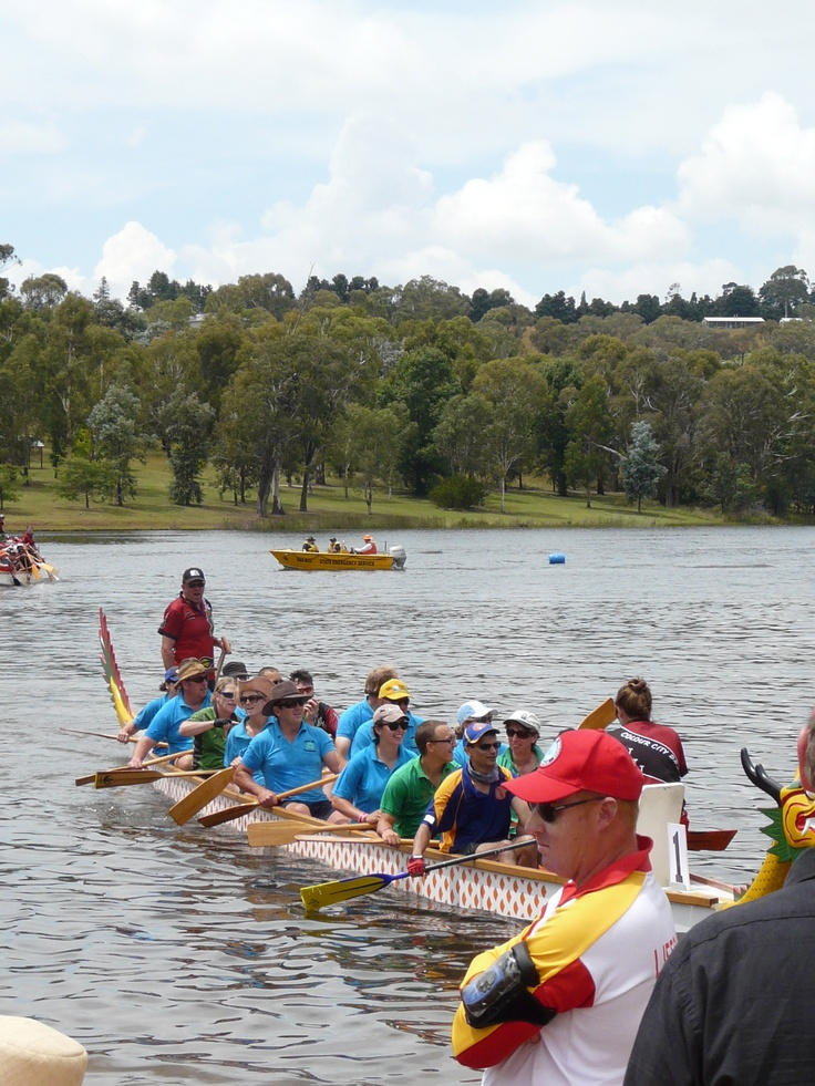 Dragon Boat Racing, Slow Summer, Orange NSW