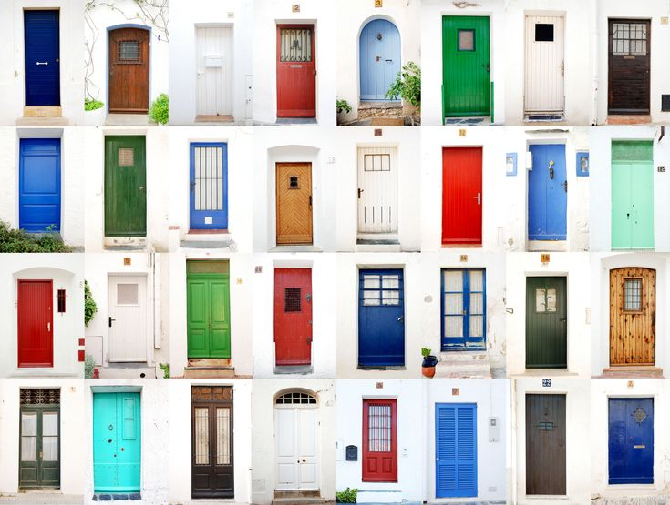 Paint your front door for luck! Feng shui dictates that north-facing doors should be blue or navy, east-facing should be brown or green, south-facing should be red or orange and west-facing should be grey or white.