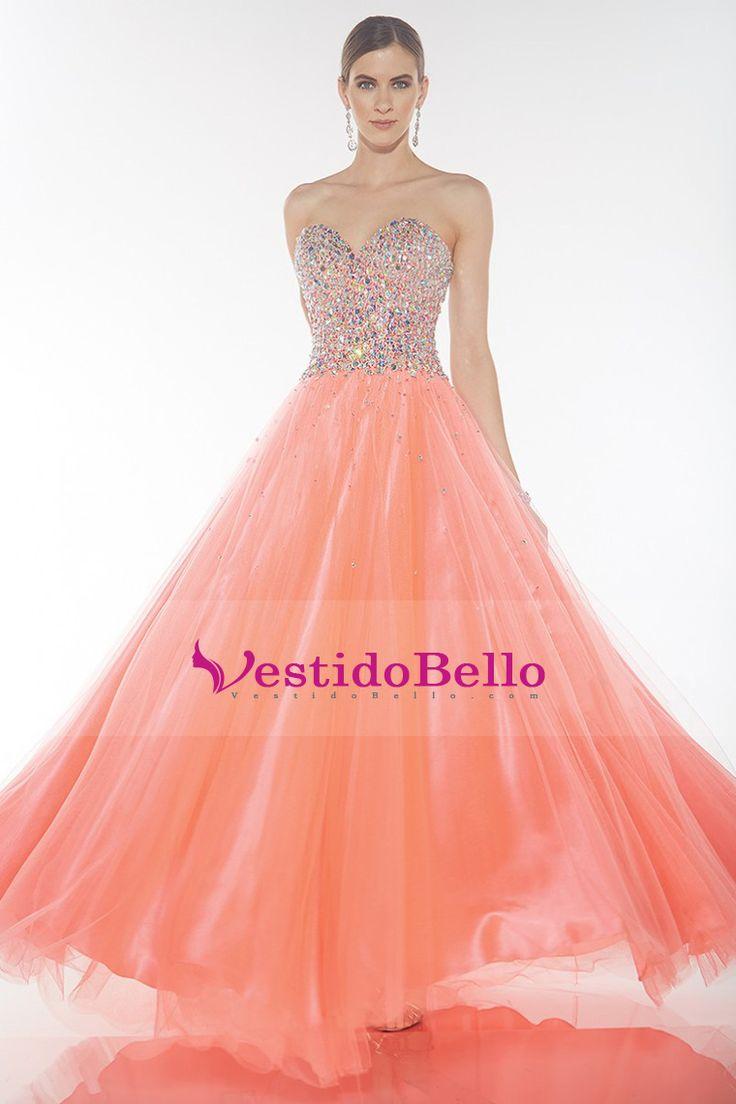 Mejores 8 imágenes de vestidos en Pinterest | Vestido de baile ...