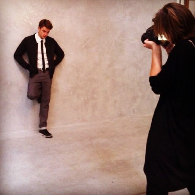Photoshoot for the men collection.