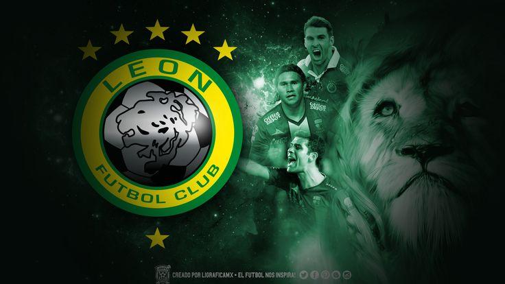 Club de le n logo wallpaper vocho pinterest leon Quien juega hoy futbol