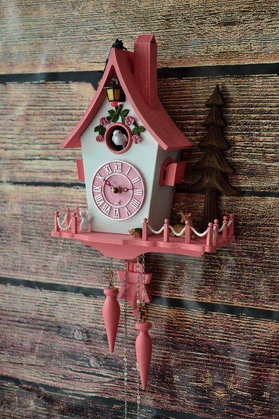 2019 Model New Modern Cuckoo Clock It Is Not Plastic Snoopy Cuckoo Clock Modern Cuckoo Clock Wall Decor Forest Hand Made Hand Paint Popart Modern Cuckoo Clocks Cuckoo Clock Clock Wall Decor