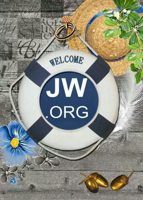 How appropriate, its a life preserver :-)   JW.Org