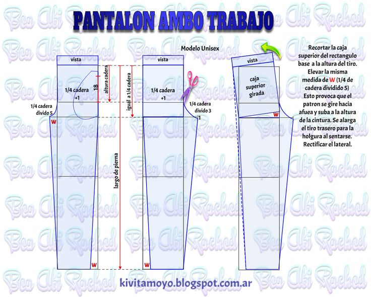 KiVita MoYo: PANTALON PARA AMBO DE TRABAJO.