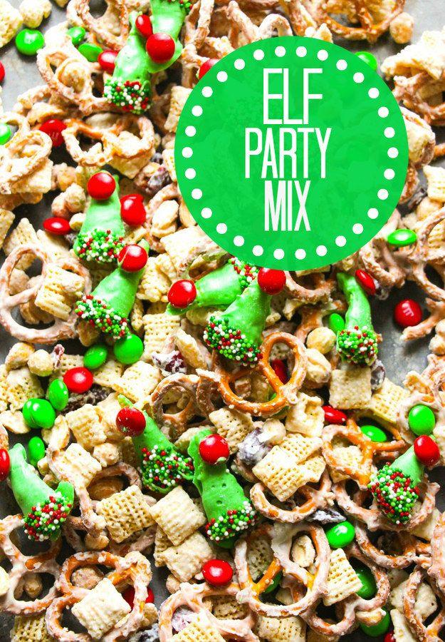 Holiday Recipes Party Mix