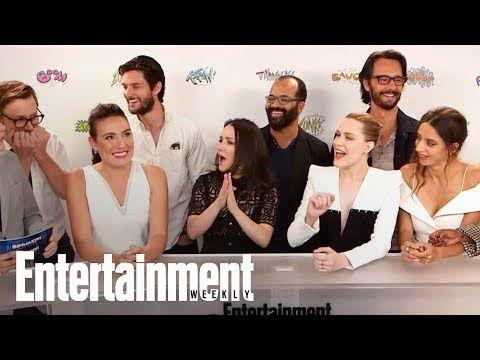 EW: 'Westworld' Cast & Creator Dish On Unanswered Season 2 Questions | SDCC 2017 | Entertainment Weekly