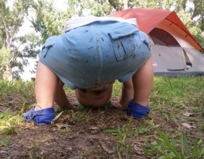 How- to camping tips for Camping with Toddlers, Infants, and Babies. Camping gear, and planning checklists for camping with young kids