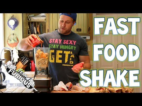 Watch This Crazy Guy - The Ultimate Fast Food Shake | Furious Pete