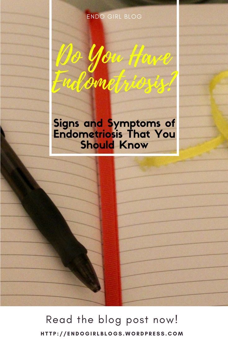 Do you know the signs and symptoms typical of endometriosis? Read this educational and informative blog post!