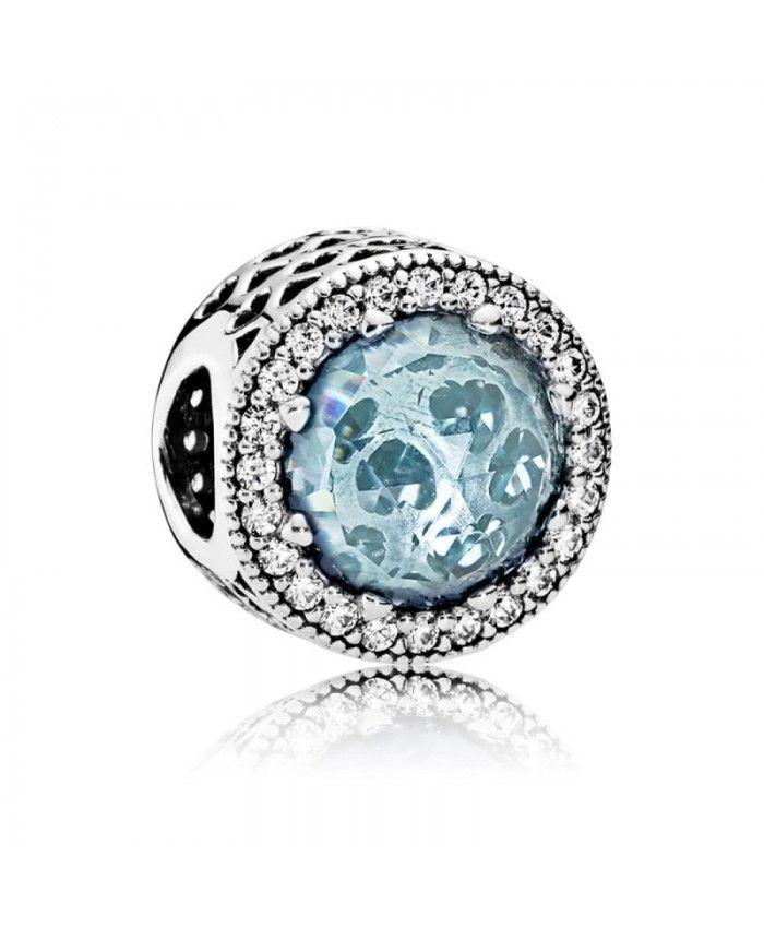 Pandora Women Silver Bead Charm - 792055PCZ kbfp4x