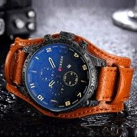 High quality  Quatz Movement; High abrasion resistant glass; 30 meters water resistant.(Please Don't