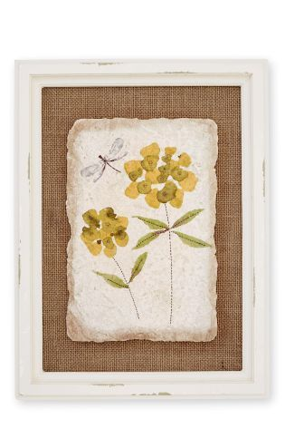 Buy Framed Flower Print On Resin from the Next UK online shop