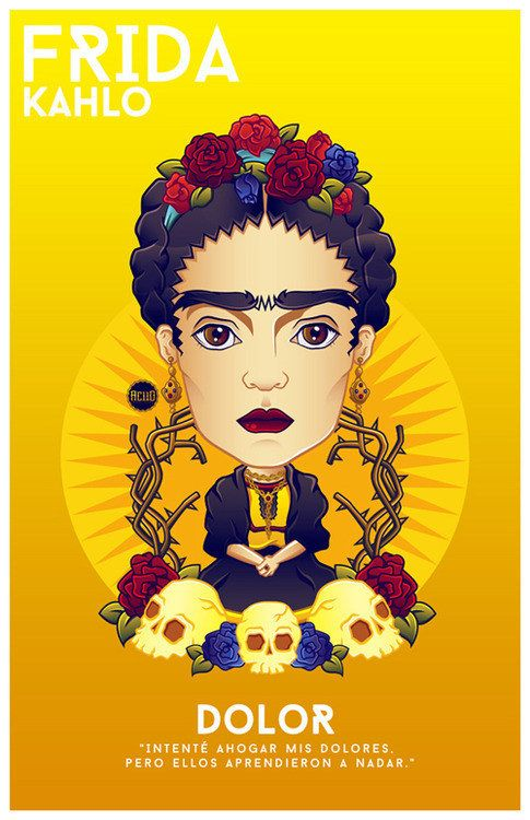 Frida Kahlo- Aciid
