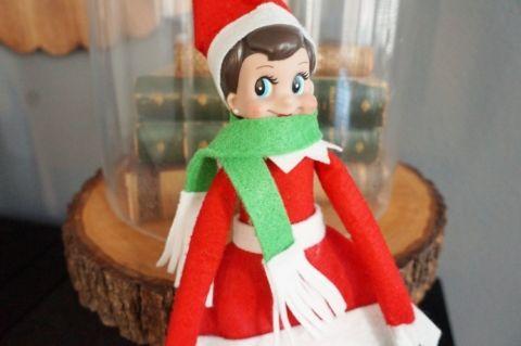 Elf on the Shelf Scarf -Elf Clothes
