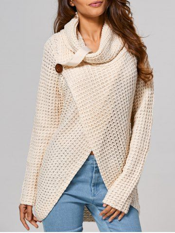 GET $50 NOW | Join RoseGal: Get YOUR $50 NOW!http://www.rosegal.com/sweaters/hollow-out-front-slit-wrap-813994.html?seid=7273665rg813994