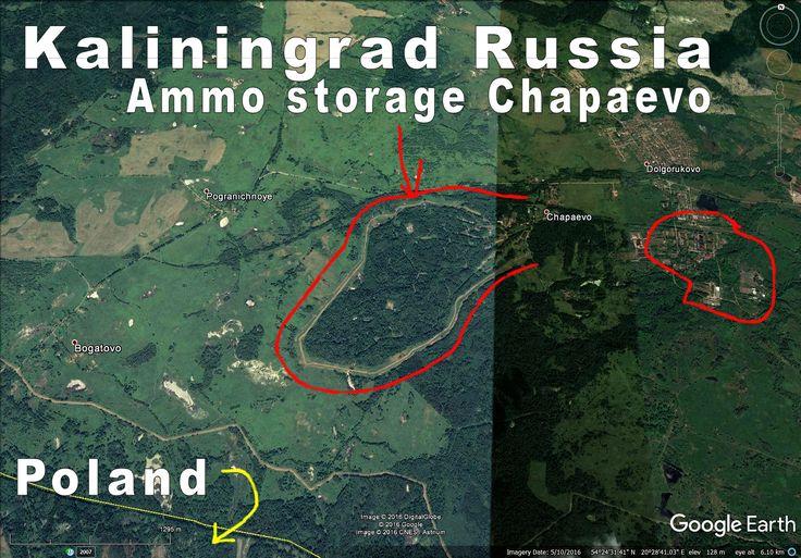 Massive ammo storage right at Polish border.
