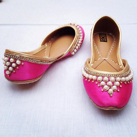 Gold flats pearl flats wedding flats pink flats red by ShopSoma