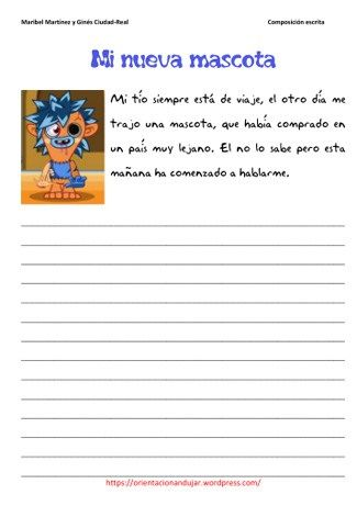 creative writing in spanish This board includes spanish writing prompts and creative writing activities that can be found in my teachers pay teachers store | see more ideas about spanish classroom, learning spanish and spanish class.