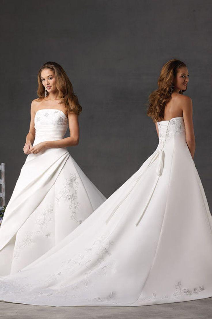 10 best wedding images on Pinterest | Wedding frocks, Bridal dresses ...