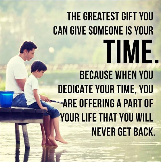 Positive life Quotes Time You Will Never Get back, But Give Your Time To Someone