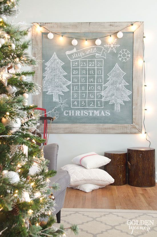 farmhouse-christmas-sleeps-until-christmas-extra-large-vintage-green-chalkboard