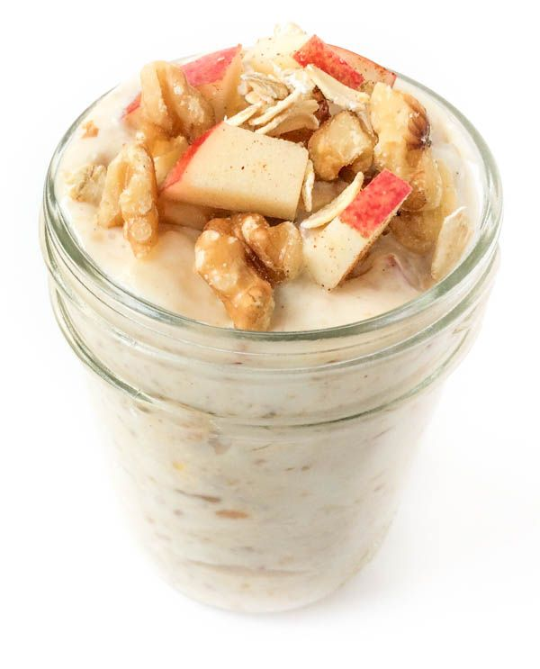 Apple Pie Refrigerator Oatmeal Recipe on Yummly. @yummly #recipe