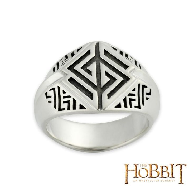 Hobbit the crest of Fili | Der Hobbit - Siegelring Zwerg Fili Antik Nr. 19009950