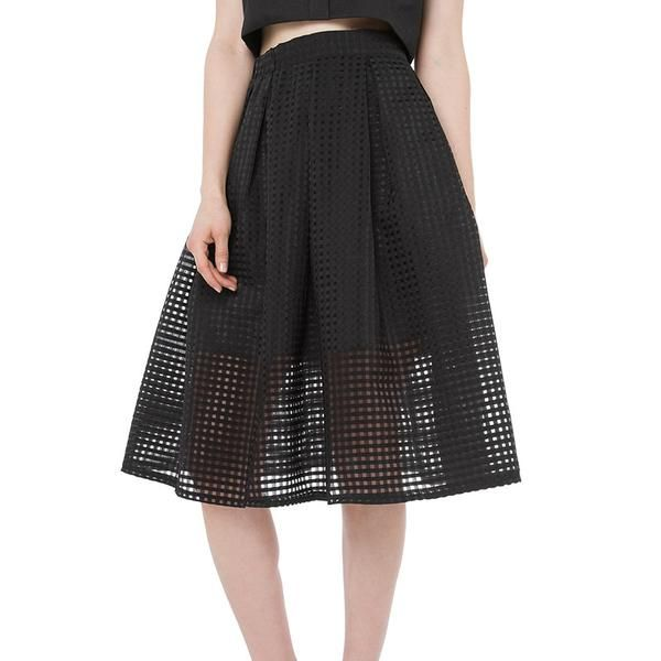 minimalist mesh skirt Neutral colored fashion pieces - more at mnmlst.shop