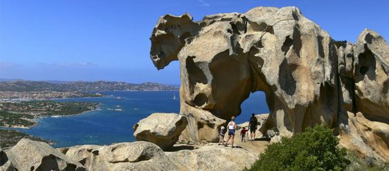 Capo d'Orso, near our villa Mascaratu, is a must see. A classic example of Sardinia's natural rock formations this famous climbing spot looks uncannily like a bear! There is also quite a view...