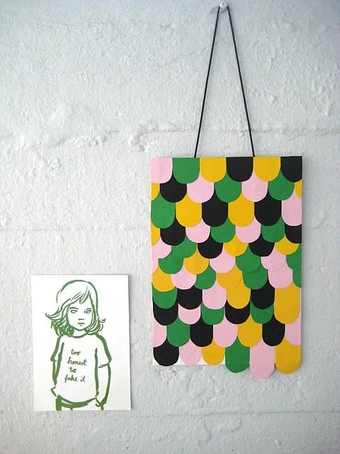 PaperWall Art, Wall Hanging, Diy Art, Paper Pattern, Paper Art, Children Toys, Paper Crafts, Art Wall, Construction Paper