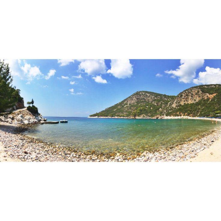 Limnonari Beach, Skopelos island.