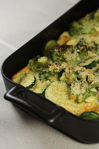 Vous avez déjà goûté un clafoutis de légumes ? C'est délicieux ! J'aime bien en faire pour changer des tartes salées, c'est pour moi un plat parfait pour un repas du soir, à accompagner d'une p'tit...
