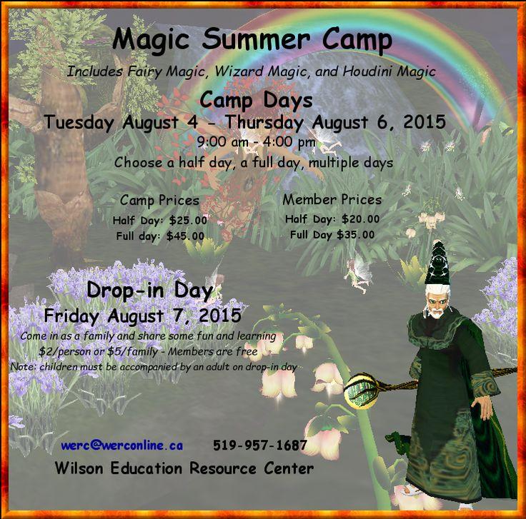 Fairies, wizards and houdini magic - learning fun #magic #fairies #houdini #wizards #pdday