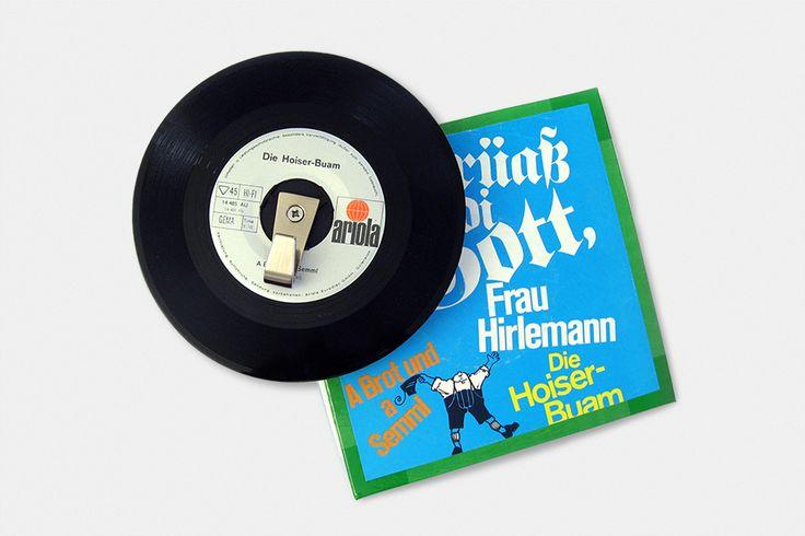 Vinyl-Single-Garderobe