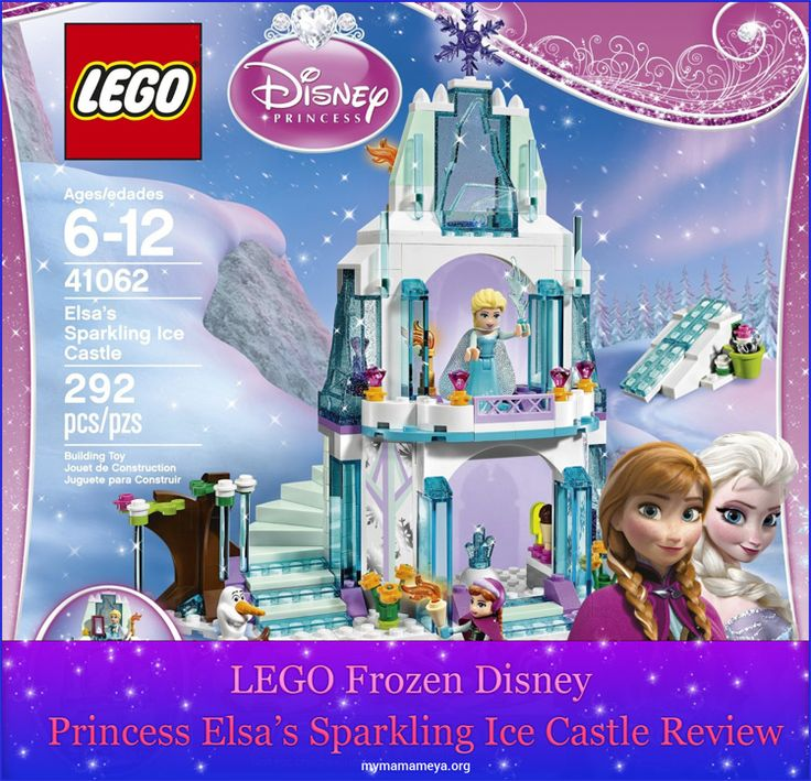 Do you have a Disney Frozen fan in your family? If so, than the LEGO Frozen Castle would make an ideal gift. My granddaughter just watched the Frozen movie last night and this must be the tenth tim... http://mymamameya.org/lego-frozen-disney-princess-elsas-sparkling-ice-castle-review/
