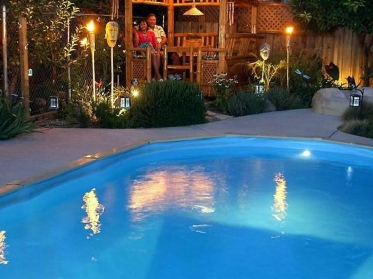 ideas about above ground pool lights on pinterest solar pool lights. Black Bedroom Furniture Sets. Home Design Ideas