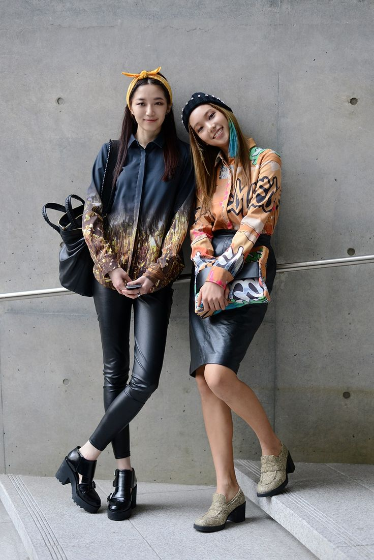 Lee Song Lee & Lee Ho Jeong @ 2014 Seoul Fashion Week
