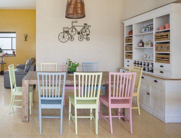 Оформление квартиры в пастельных тонах