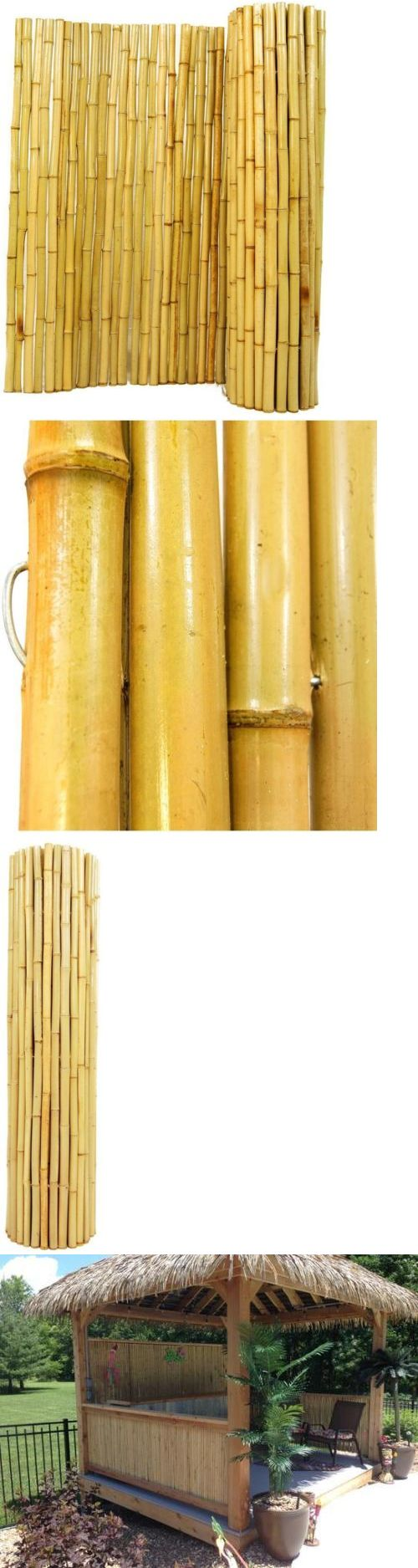 Other Garden Fencing 177033: Natural Rolled Bamboo Fence Un-Treated Pest Resistant Versatile Panel Gate Doors -> BUY IT NOW ONLY: $60.52 on eBay!