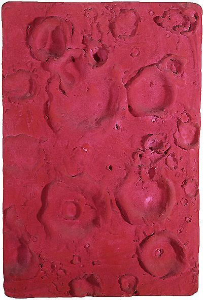 Yves Klein - Relief planétaire Lune II, 1061