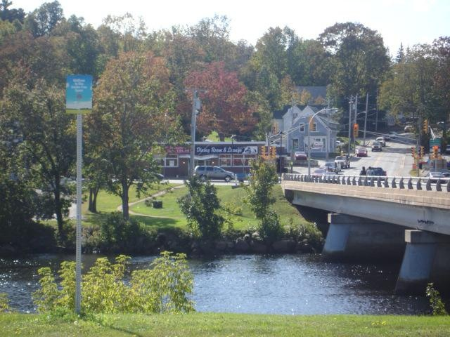 the new bridge going onto king street