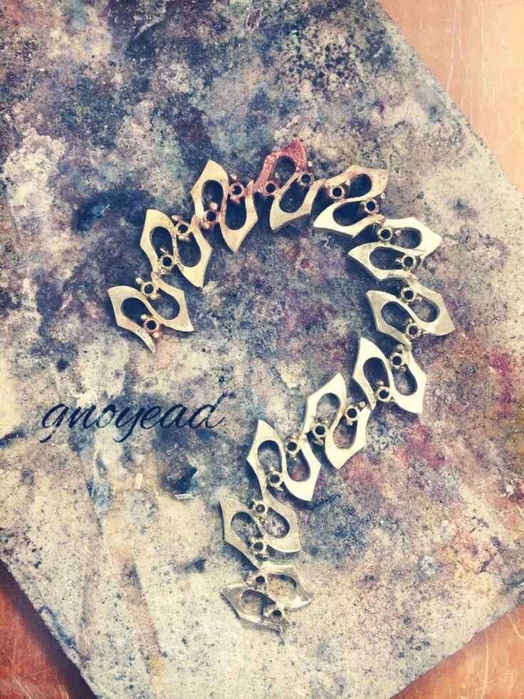 craft, metalcraft, jewelry, brass, ? , unit, handmade