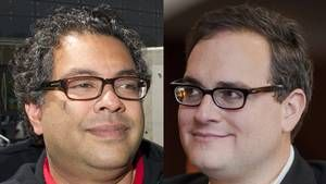 Oil sands and mudslinging: Calgary Mayor Nenshi, Ezra Levant get into Twitter war Calgary's Mayor Nenshi gets into Twitter tiff with Ezra Levant The public conversation quickly devolved with Mr. Nenshi's use of a loaded question