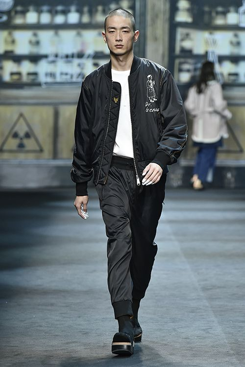 Park Sung Jin - Steve J & Yoni P Fall 2015 Seoul Fashion Week